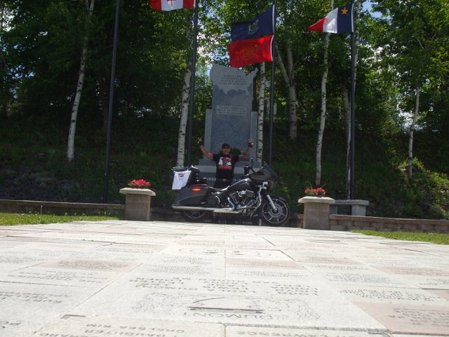Madawaska Me June 11 2014 Bike picture Completed USA 4 Corners True X